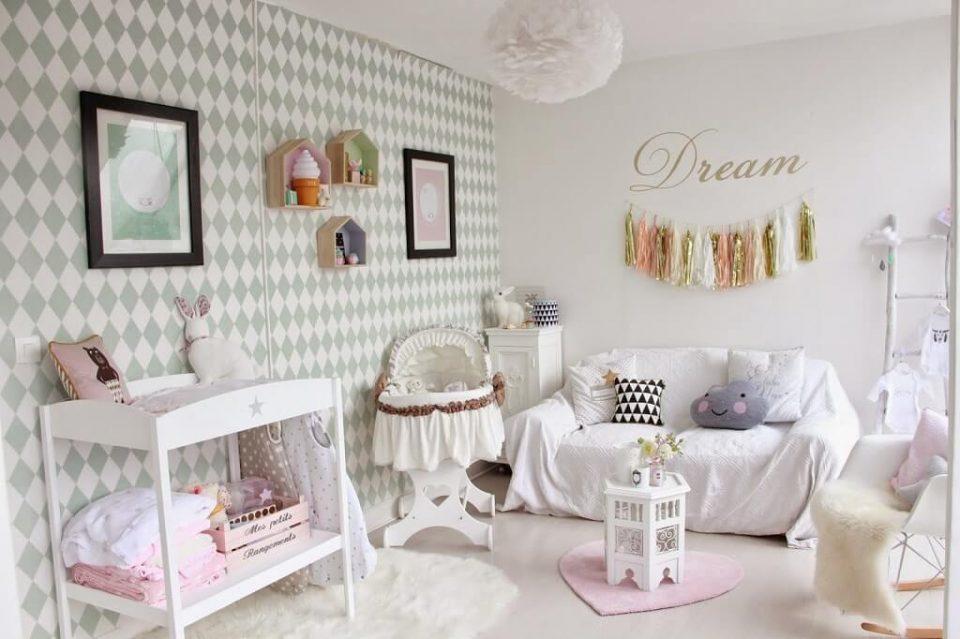 Péparer à l'avance une idée décoration chambre bébé